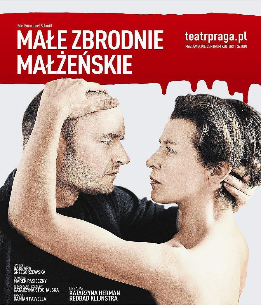 """""""Małe zbrodnie małżeńskie"""", plakat (źródło: materiał prasowy)"""