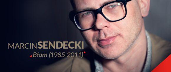 """Marcin Sendecki, """"Błam"""", logo (źródło: materiały prasowe)"""