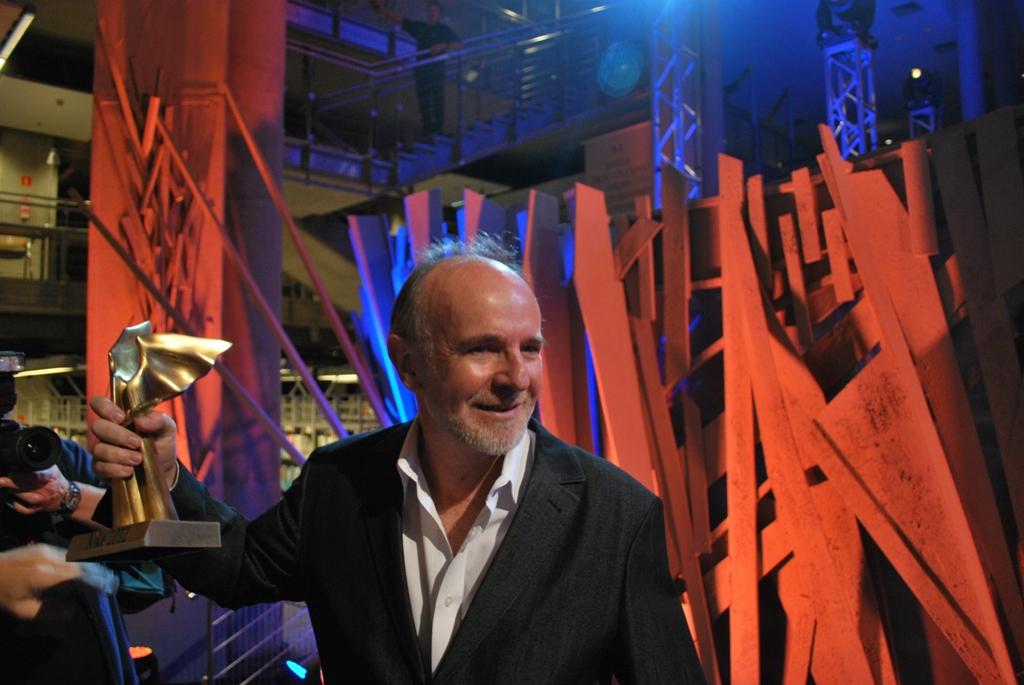 Marek Bieńczyk, Gala Nike 2012 (źródło: materiały prasowe organizatora)