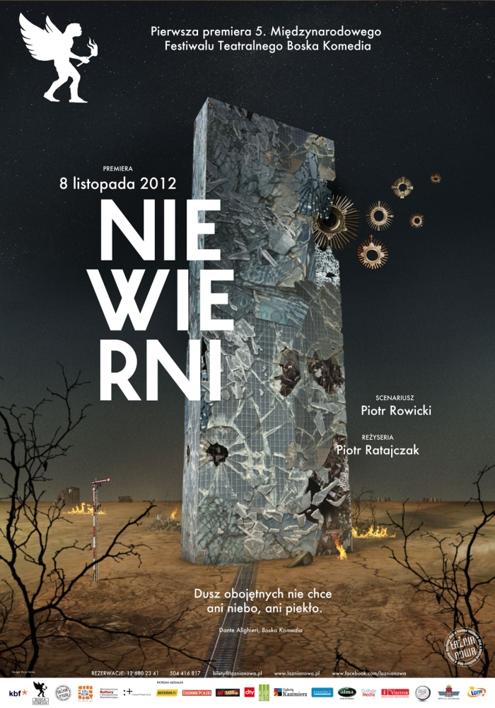 """""""Niewierni"""", reż. Piotr Ratajczak, plakat (żródło: materiał prasowy)"""