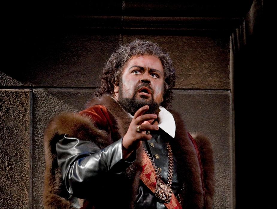 Johan Botha jako Otello, fot. Ken Howard (źródło; materiały prasowe organizatora)