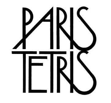 Plakat Paris Tetris (źródło: materiały prasowe)