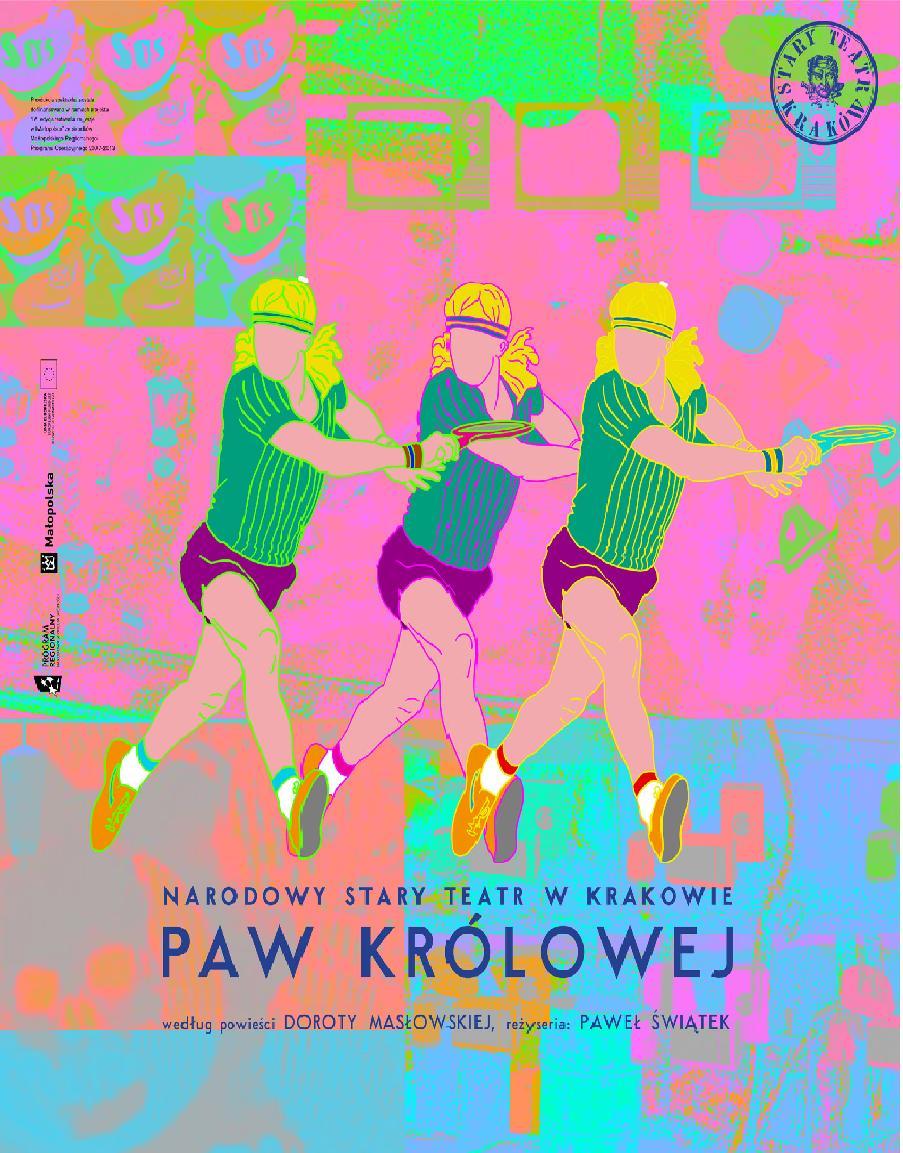 """""""Paw królowej"""", reż. Paweł Świątek, plakat (źródło: materiały prasowe)"""