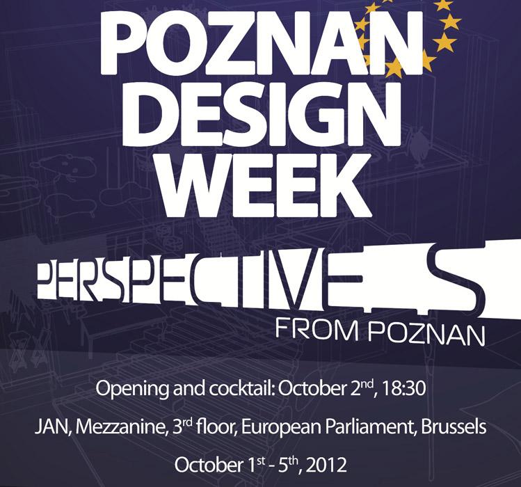 Wystawa poznańskiego designu w Parlamencie Europejskim (źródło: materiały prasowe organizatora)