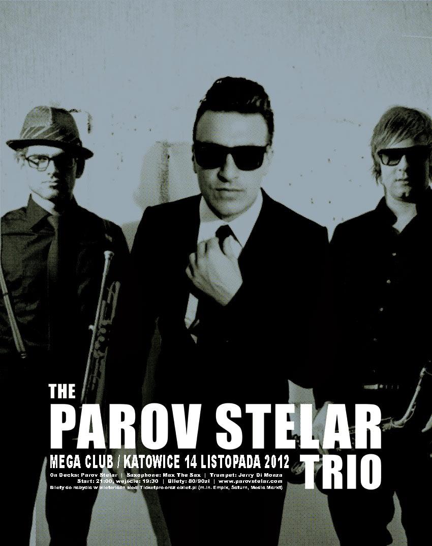 plakat The Parov Stelar (źródło: materiały prasowe organizatora)