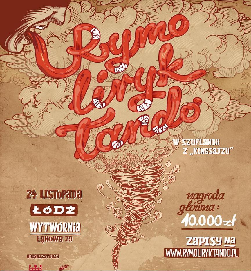 Rymoliryktando 2012, plakat (źródło: materiał prasowy)