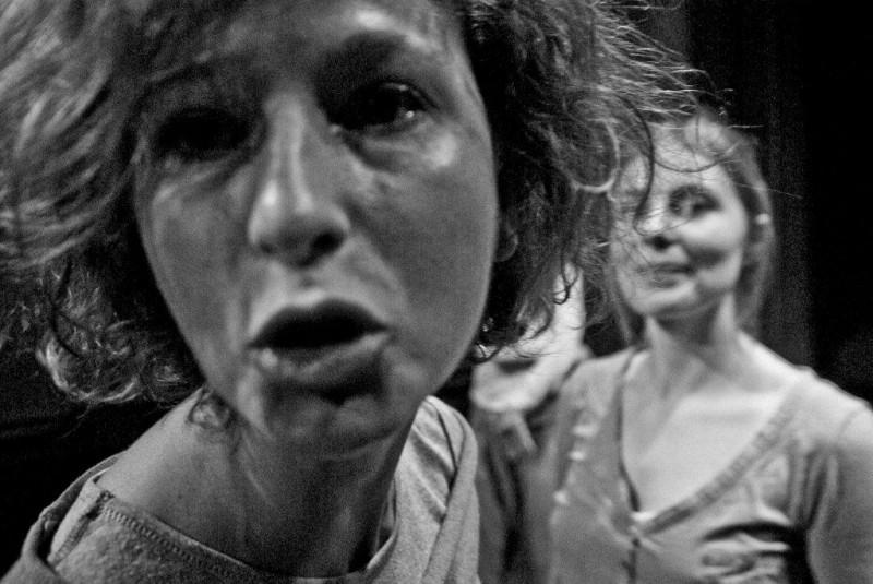 """Spektakl """"Śmierć i zmartwychwstanie świata"""", fot. J. Laskowski (źródło: materiały prasowe teatru)"""
