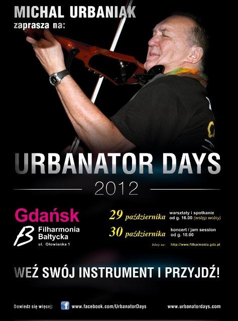 Urbanator Days, plakat (źródło: materiały prasowe organizatora)