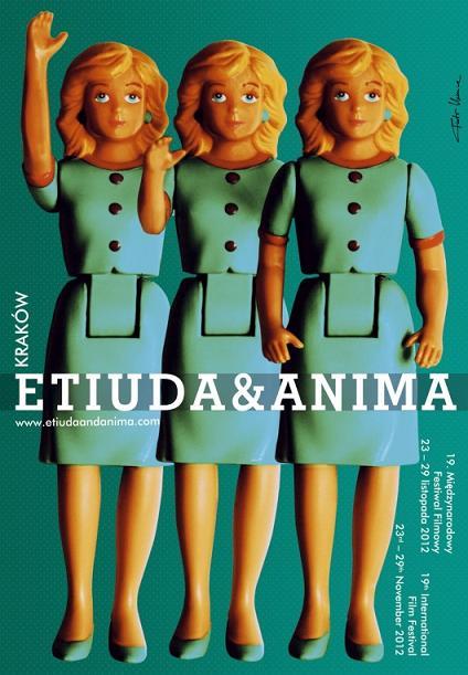 """19. Międzynarodowy Festiwal Filmowy """"Etiuda&Anima"""" - plakat (źródło: materiały prasowe)"""