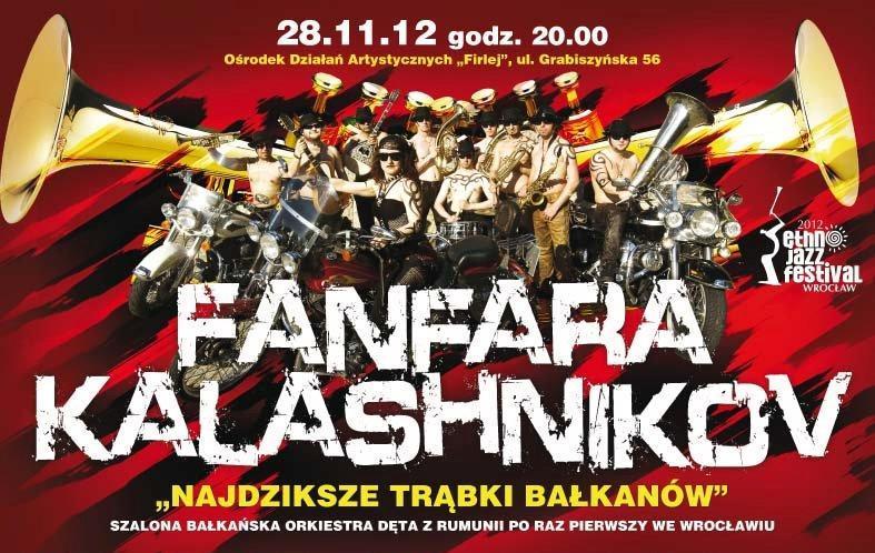 Plakat Fanfara Kalashnikow (źródło: materiały prasowe)