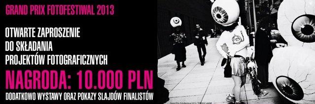 Konkurs Grand Prix Fotofestiwal 2013, zaproszenie (źródło: materiały prasowe organizatora)