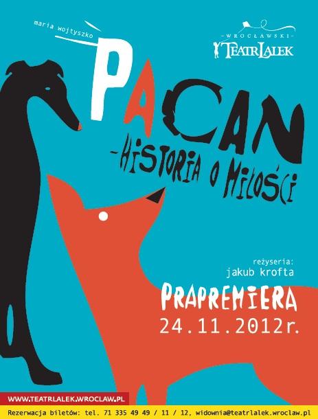 """""""Pacan – historia o miłości"""", reż. Jakub Krofta - plakat (źródło: materiały prasowe)"""