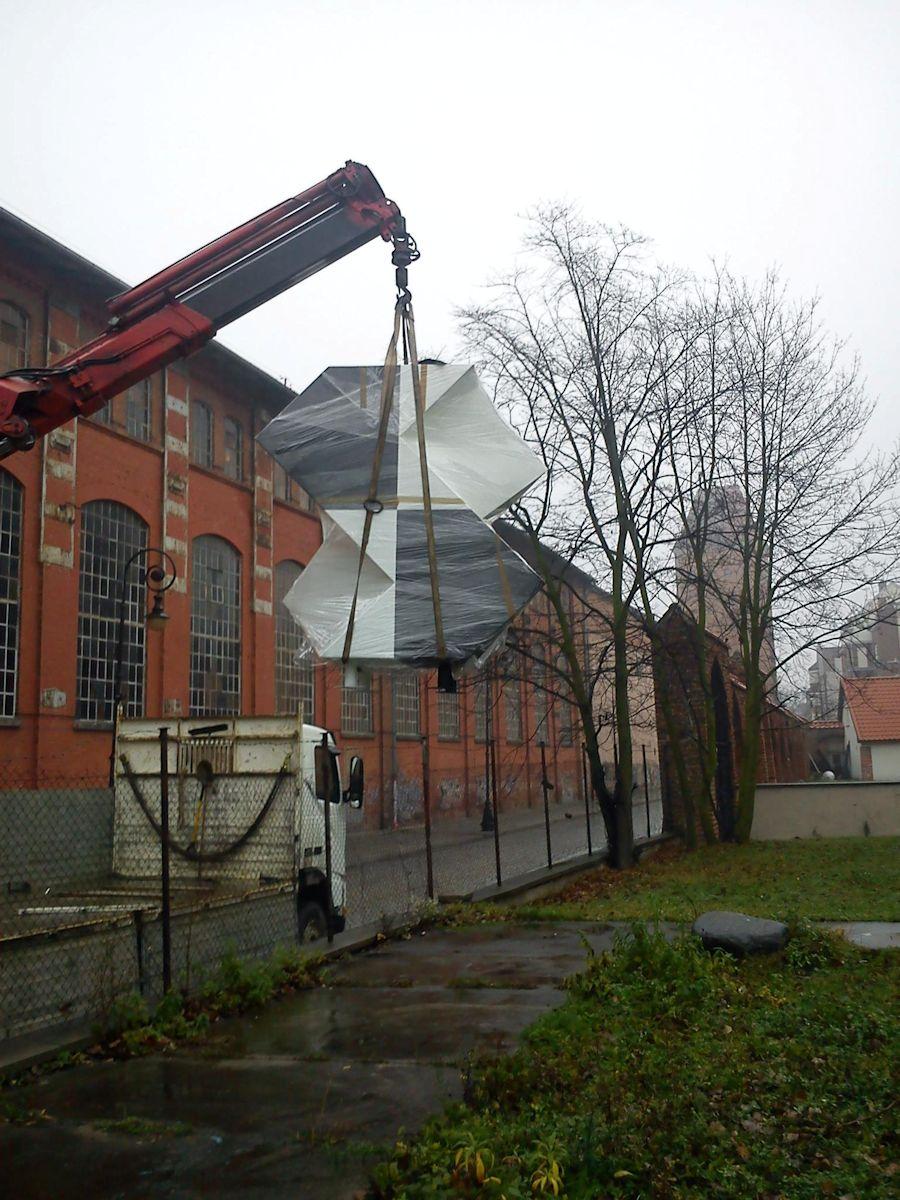 "Janusz Kapusta, ""K-dron"", fot. Z. Kinder (źródło:materiały prasowe organizatora)"