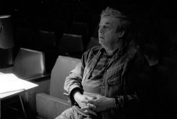Jerzy Sopoćko - zdjęcie z próby w Teatrze im. Ludiwka Solskiego w Tarnowie (foto Paweł Topolski)