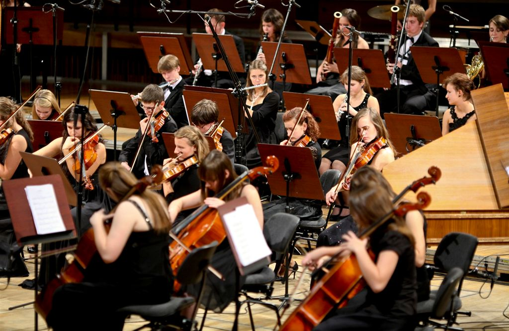 Fot. Krzysztof Kuczyk Młoda Polska Filharmonia (źródło: materiały prasowe)