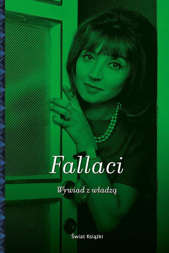 """""""Wywiad z władzą"""", Oriana Fallaci, okładka (źródło: materiał prasowy)"""