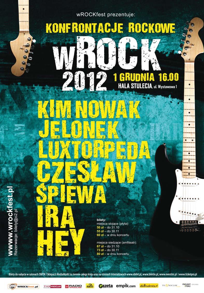 Plakat Konfrontacji Rockowych (źródło: materiały prasowe)