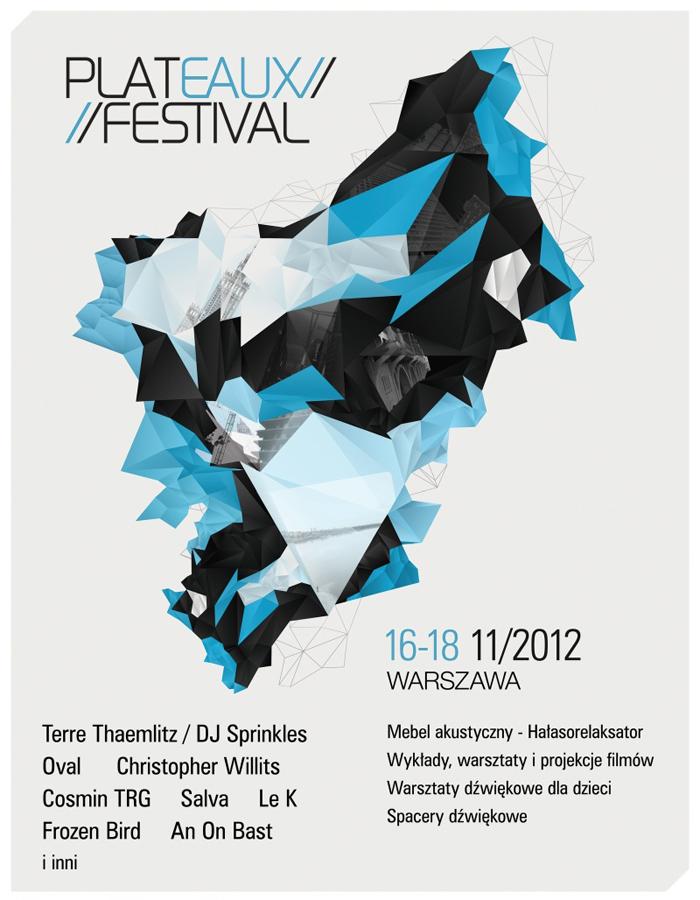 Plateaux Festival, plakat (źródło: materiały prasowe organizatora)