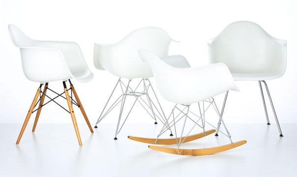 Krzesła DAX, DAR, DAW, RAR, PACC, 1950, proj. Ray i Charles Eames (źródło: materiały prasowe producenta)
