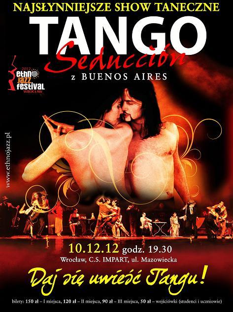 """""""Tango Seducción"""" we Wrocławiu - plakat (źródło: materiały prasowe)"""