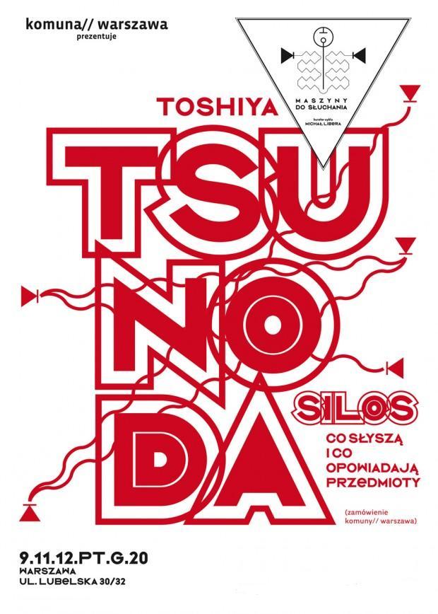 Plakat koncertu Toshiya Tsunoda (źródło: materiały prasowe)