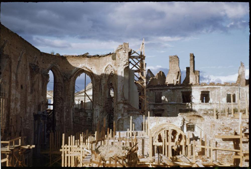Warszawa, ruiny katedry św. Jana (źródło: materiały prasowe organizatora)