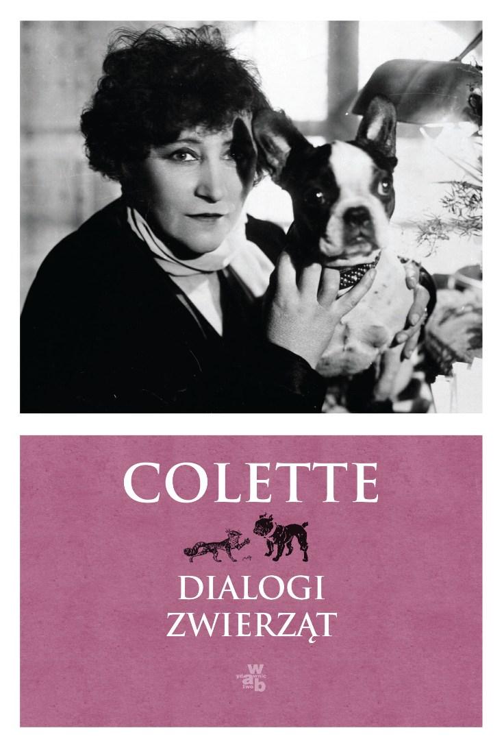 """Colette, """"Dialogi zwierzęce"""", okładka (źródło: materiał prasowy)"""