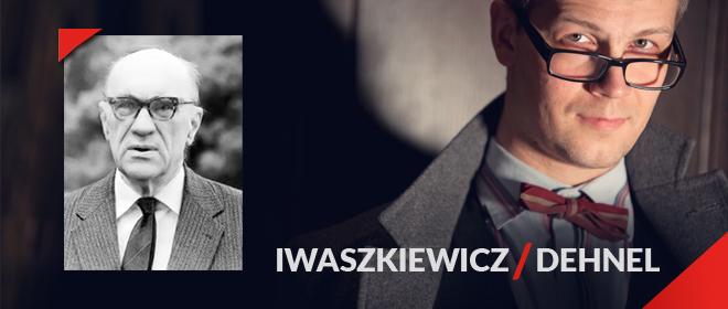 """Jarosław Iwaszkiewicz, """"Wielkie, pobrudzone, zachwycone zwierzę"""", logo (źródło: materiał prasowy)"""