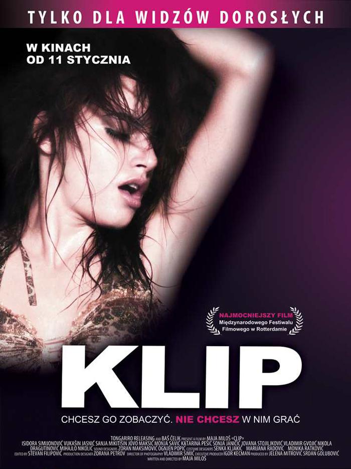 """Klip"", reż. Maja Miloš, plakat (źródło: materiały prasowe dystrybutora)"