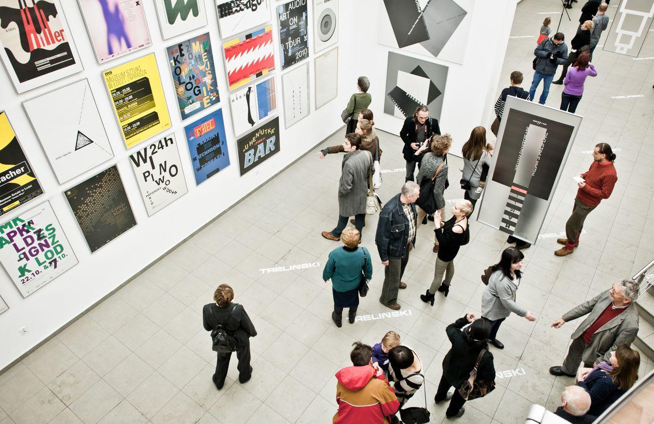 """Wernisaż wystawy """"Kody dialogu"""", fot. Małgorzata Kruszyniak (źródło: materiały prasowe organizatora)"""