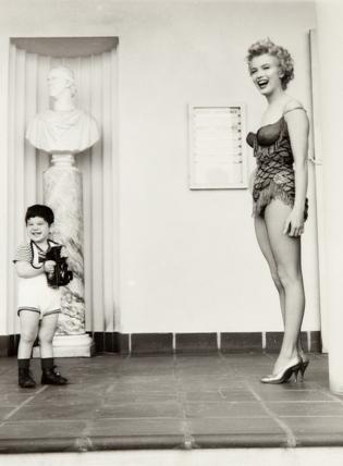Kolekcja FOZZ, fot. Milton H. Greene, Marilyn Monroe i Joshua (źródło: materiały prasowe organizatora)