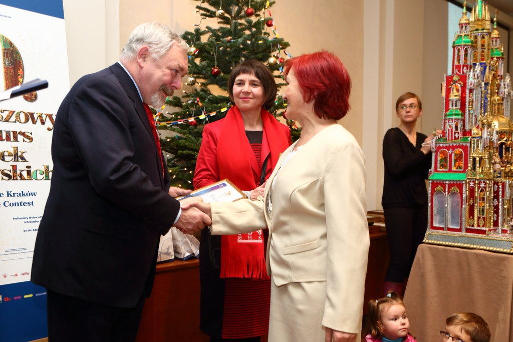 Laureaci 70. Konkursu Szopek Krakowskich, fot. Andrzej Janikowski (źródło: materiały prasowe)