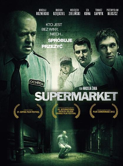 """""""Supermarket"""", reż. Maciej Żak - plakat (źródło: materiały prasowe)"""