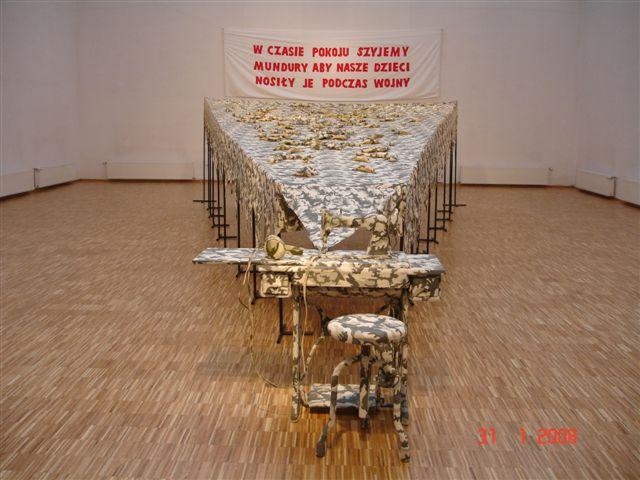 """Marcin Berdyszak, """"Obiecana perspektywa"""", Galeria Arsenał w Poznaniu, 2008 (źródło: materiały prasowe organizatora)"""