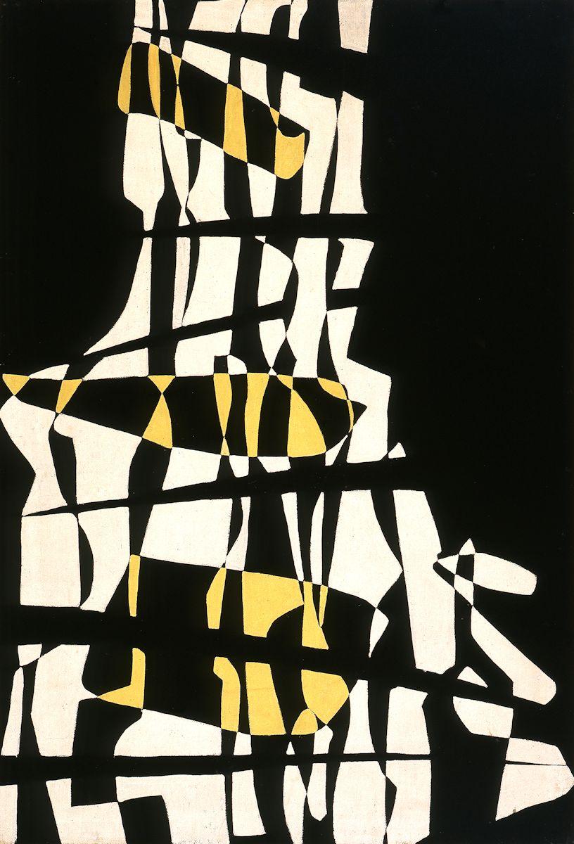 """Maria Jarema, """"Rytm I"""", 1957 (źródło: materiały prasowe organizatora)"""