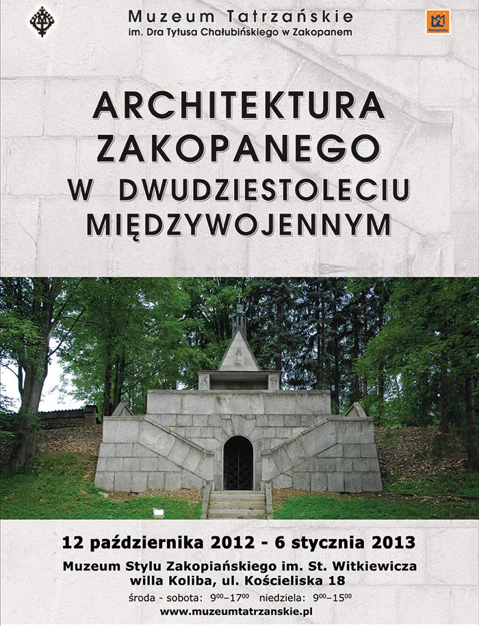 Muzeum Zakopanego w dwudziestoleciu międzywojennym (źródło: materiały prasowe organizatora)