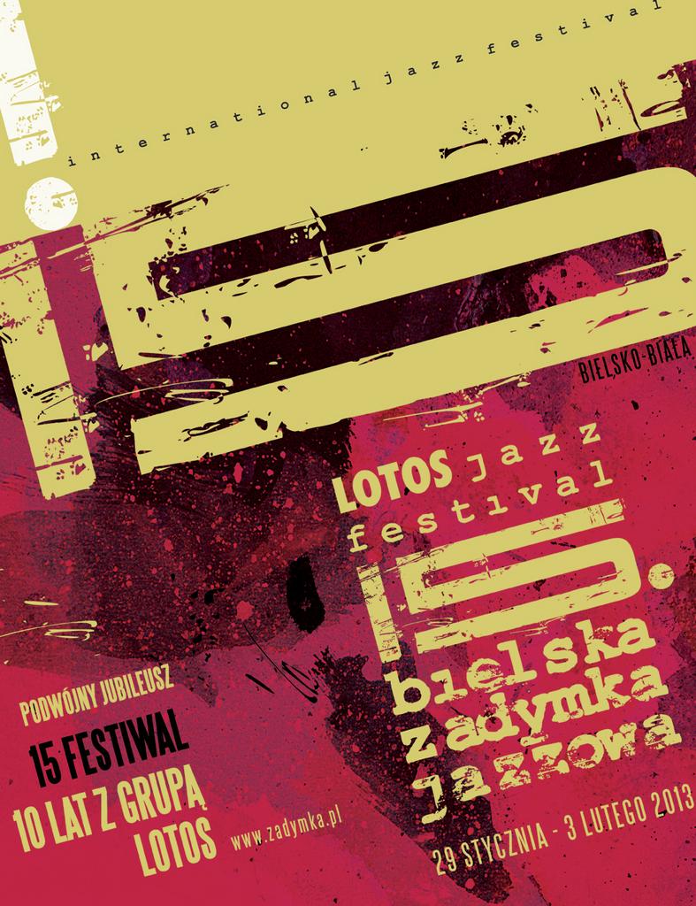 Plakat - Bielska Zadymka Jazzowa (źródło: materiały prasowe)