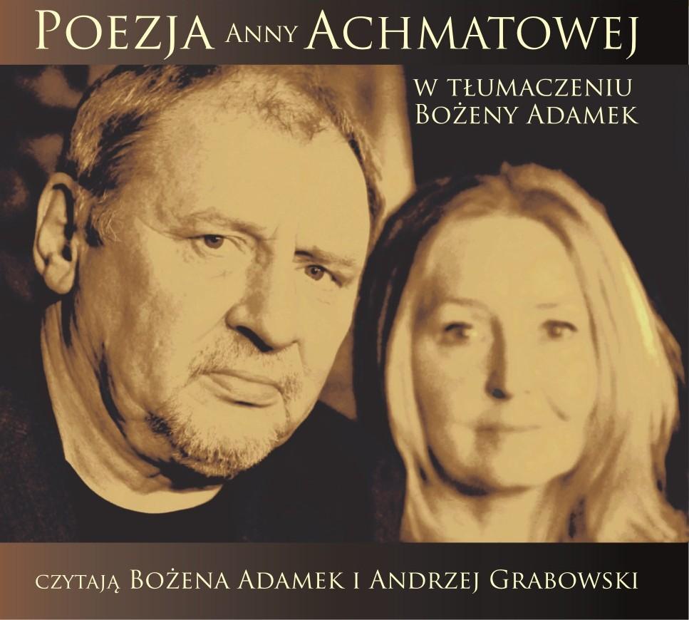 """""""Poezja Anny Achmatowej"""", Andrzej Grabowski, Bożena Adamek, okładka (źródło: materiał prasowy)"""