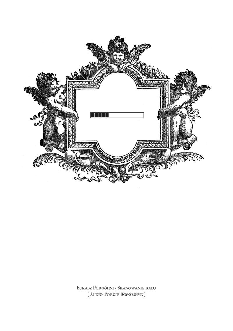 """Łukasz Podgórni, """"Skanowanie balu"""", okładka (źródło: materiał pasowy)"""
