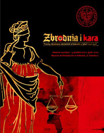 Zbrodnia i kara, plakat (źródło: materiały prasowe organizatora)
