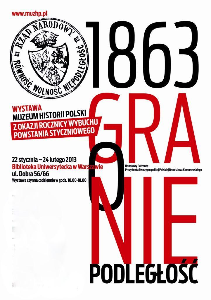 """""""1863. Gra o niepodległość"""", plakat (źródło: materiały prasowe)"""