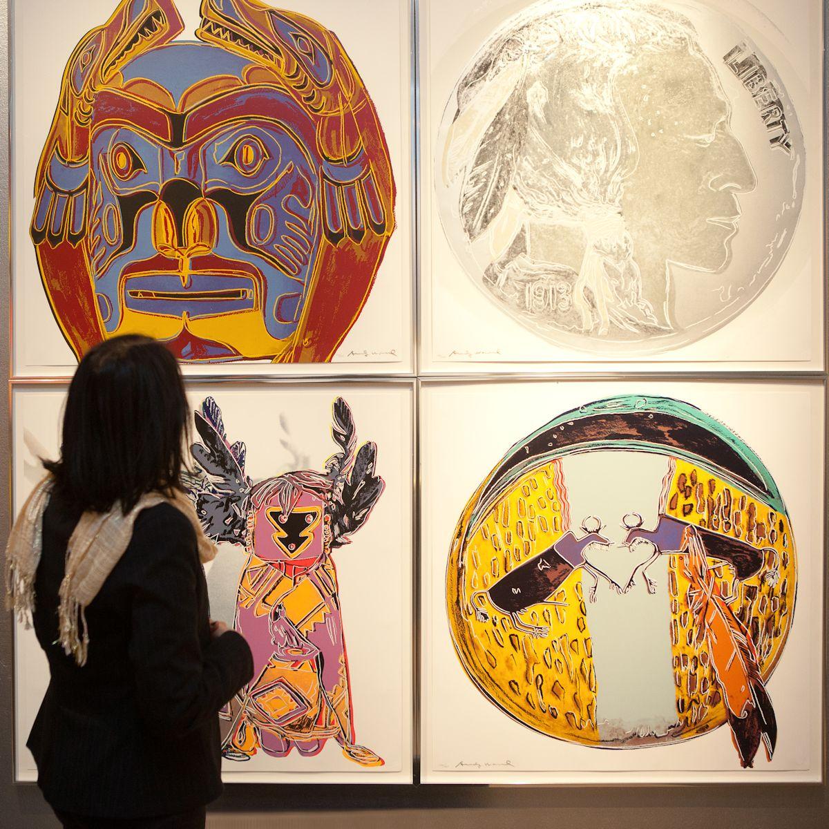"""Wystawa """" Andy Warhol. Konteksty"""", MCK, Kraków (źródło: materiały prasowe organizatora)"""