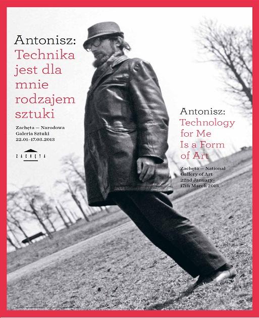 """""""Antonisz: Technika jest dla mnie rodzajem sztuki"""" - plakat (źródło: materiały prasowe)"""