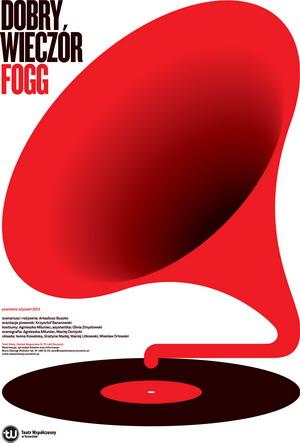"""""""Dobry wieczór Fogg"""", reż. Arkadiusz Buszko - plakat (źródło: materiały prasowe)"""