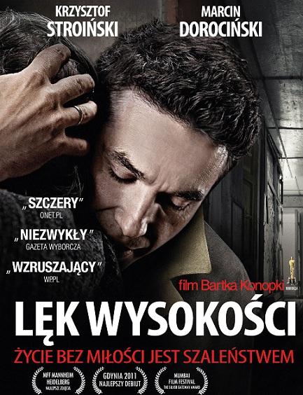 """""""Lęk wysokości"""", reż. Bartosz Konopka - plakat (źródło: materiały prasowe)"""
