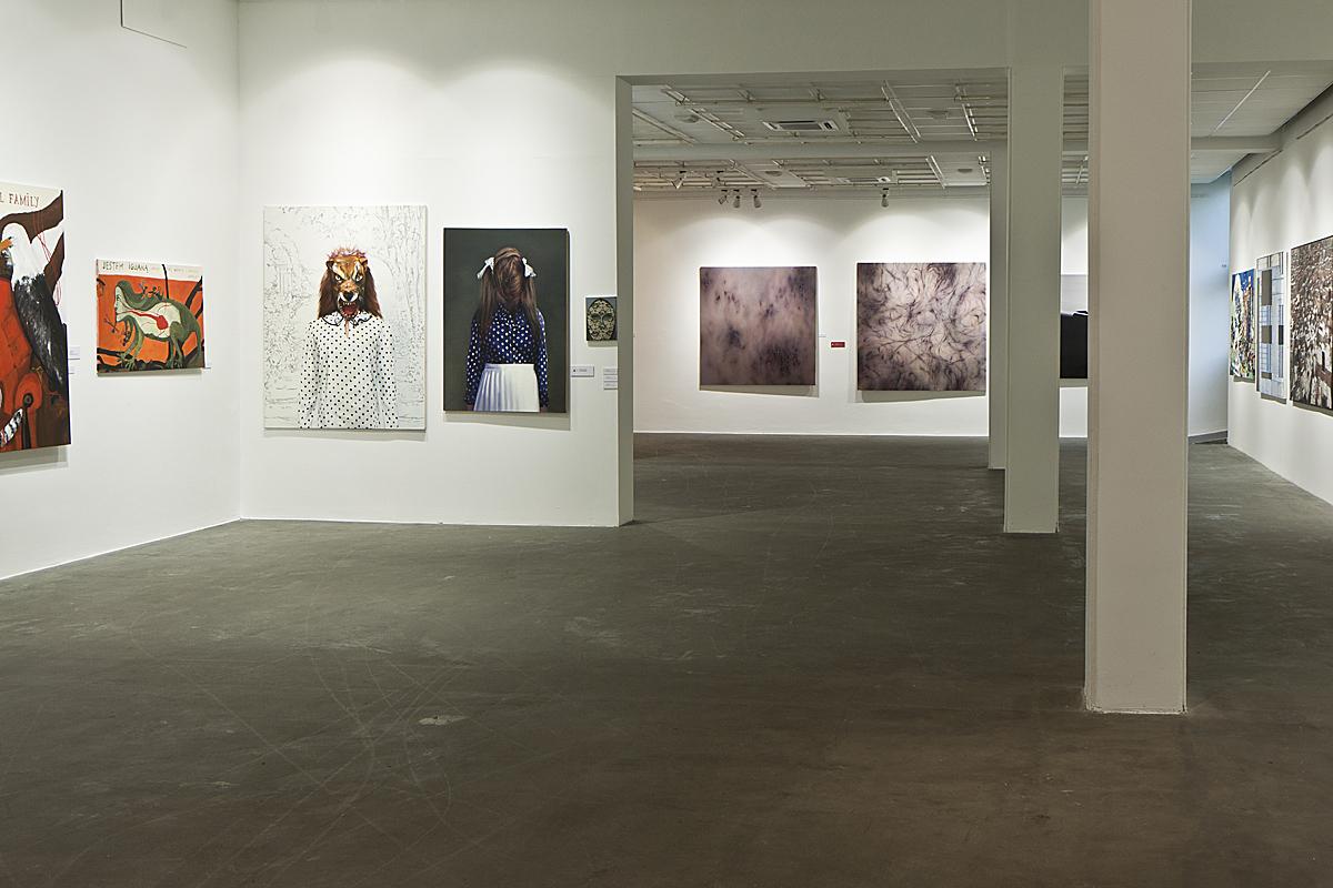 Bielska Jesień 2011, Galeria Bielska BWA w Bielsku-Białej, fragment ekspozycji, fot. K. Morcinek (źródło: materiały prasowe organizatora)