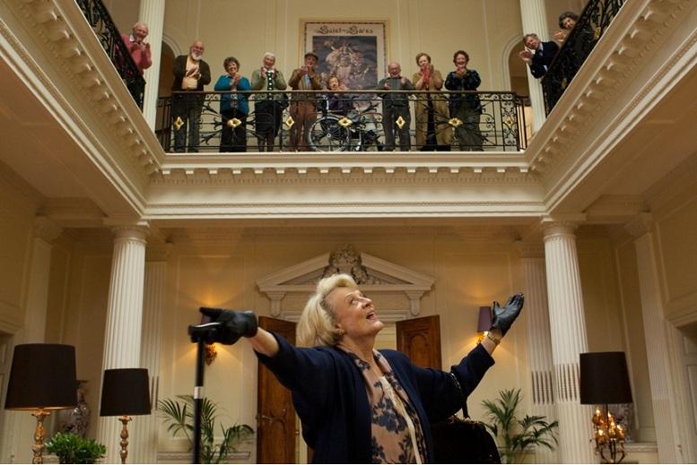 """""""Kwartet"""", reż. Dustin Hoffman - kadr z filmu (źródło: materiały prasowe)"""
