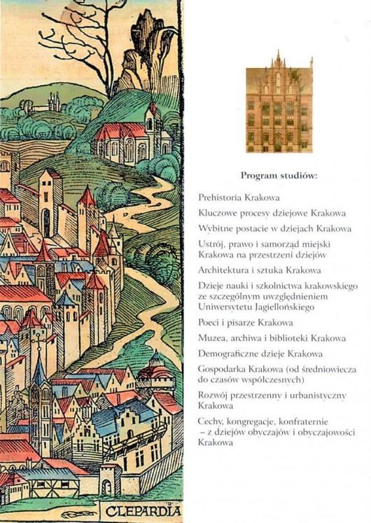 """""""Dziedzictwo kulturowe Krakowa"""", plakat (źródło: materiały prasowe)"""