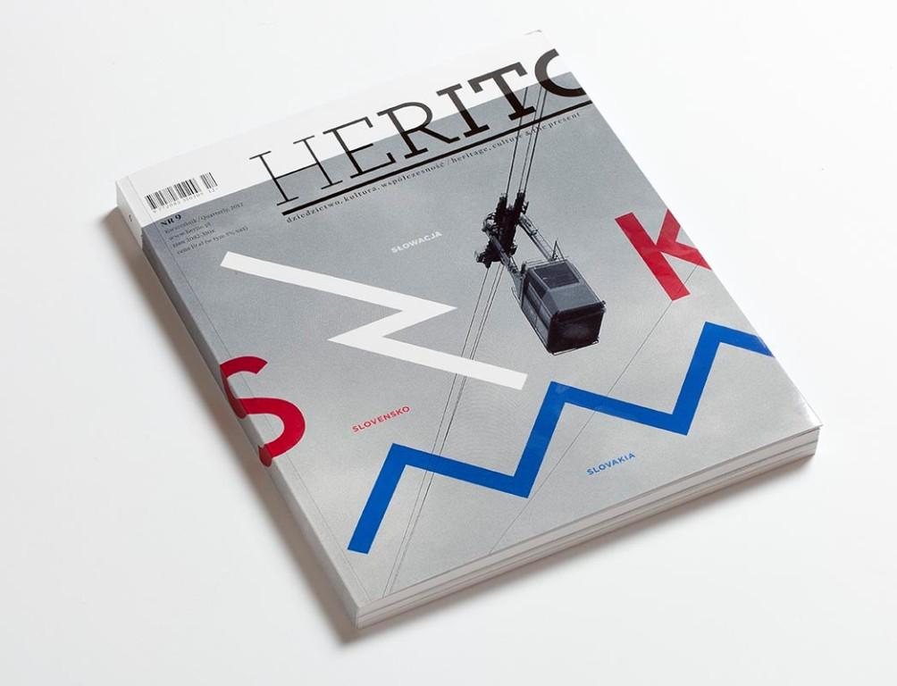 """Kwartalnik """"Herito"""" (źródło: materiały prasowe)"""