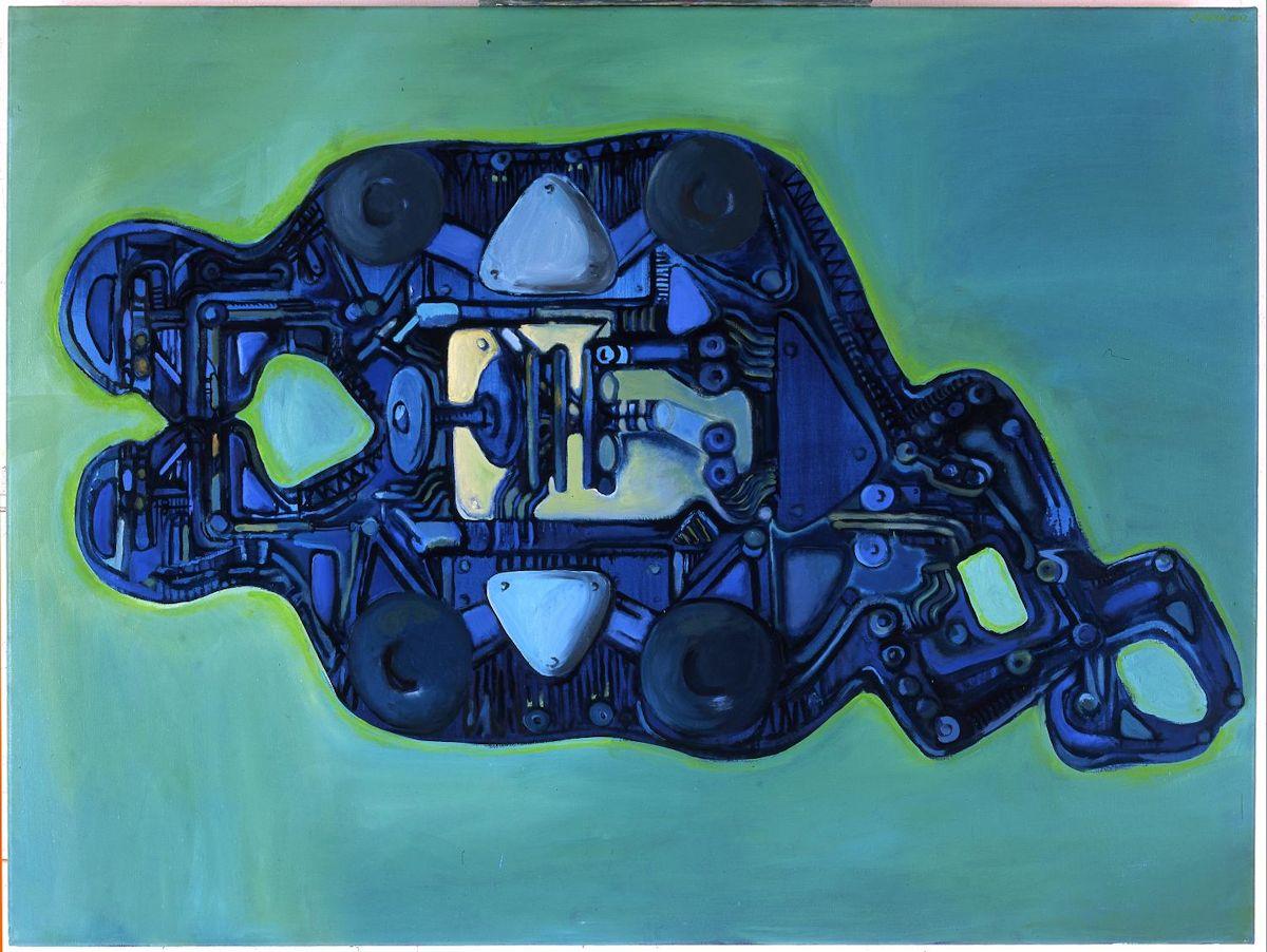 """Jacek Sroka, """"Mechaniczni kochankowie"""", 2002 (źródło: materiały prasowe organizatora)"""